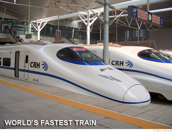 Happy Launching Of World's Fastest Train In September