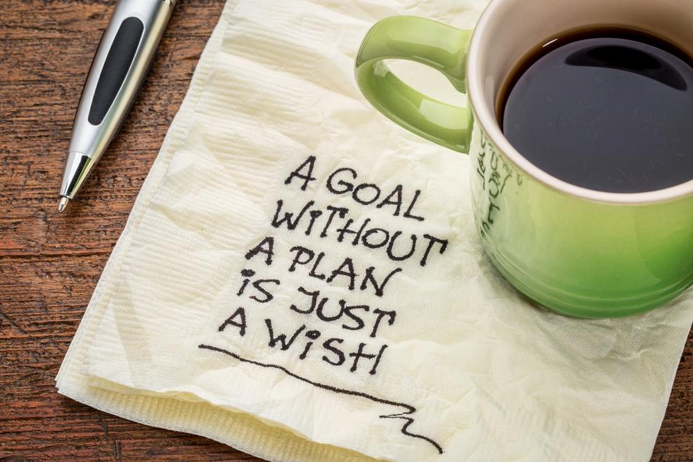 The secret of achieving goals