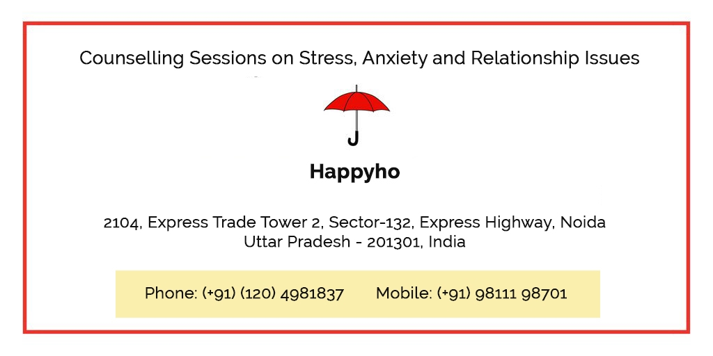 Counselling Sessions on Stress, Anxiety and Relationship Issues